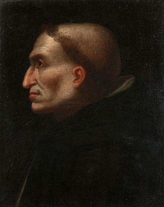 Флорентийская школа, первая половина 16 века - Портрет Савонаролы. Часть 3 Национальная галерея