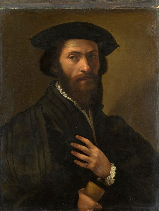 Italian, Florentine - A Bearded Man. Part 3 National Gallery UK