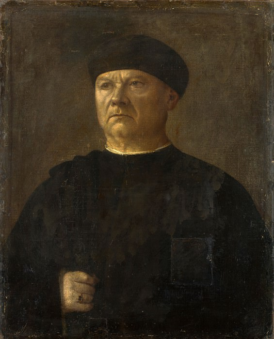 Italian - Portrait of an Old Man. Part 3 National Gallery UK