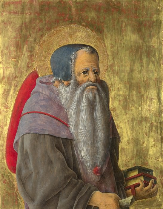 Giorgio Schiavone - Saint Jerome. Part 3 National Gallery UK