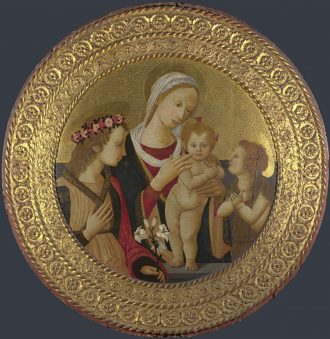 Italian, Florentine - The Virgin and Child with Saints. Part 3 National Gallery UK