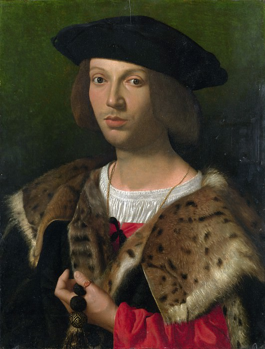 Italian - Portrait of a Young Man. Part 3 National Gallery UK