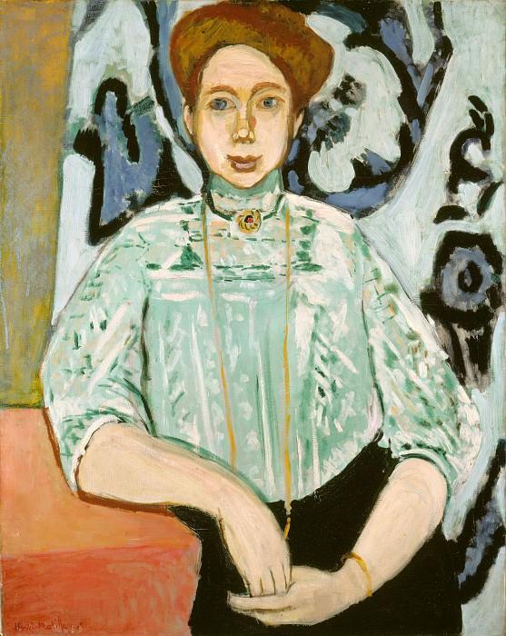 Henri Matisse - Portrait of Greta Moll. Part 3 National Gallery UK