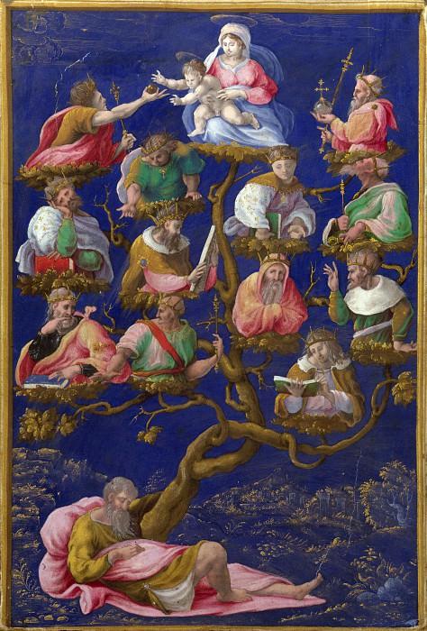 Girolamo Genga - A Jesse-Tree. Part 3 National Gallery UK