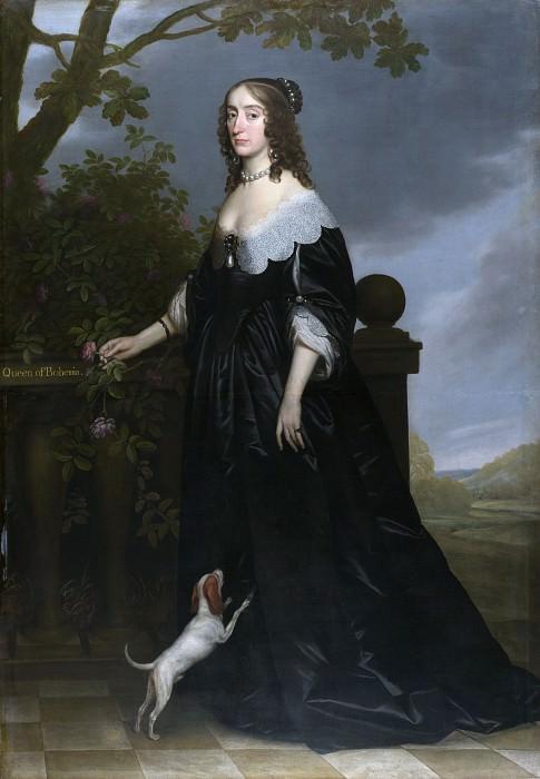 Gerrit van Honthorst - Elizabeth Stuart, Queen of Bohemia. Part 3 National Gallery UK