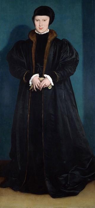 Ганс Гольбейн Младший - Кристина Датская, герцогиня Миланская. Часть 3 Национальная галерея