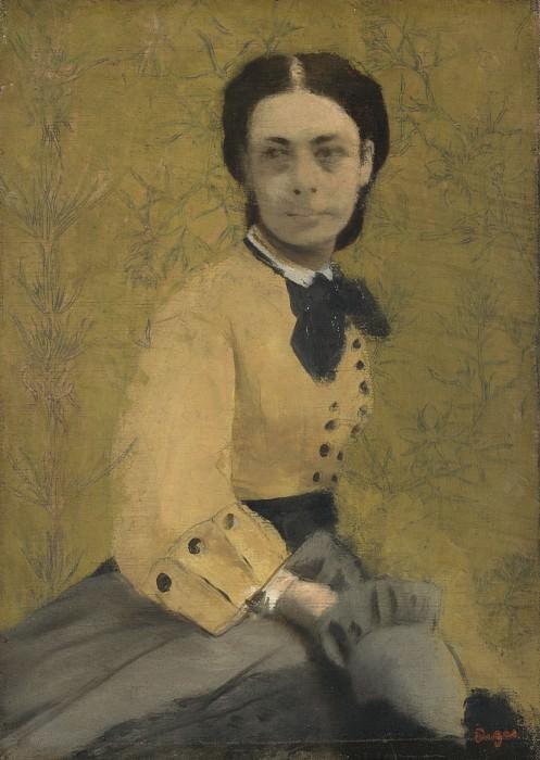 Hilaire Germain-Edgar Degas - Princess Pauline de Metternich. Part 3 National Gallery UK