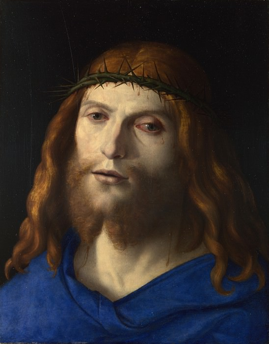 Giovanni Battista Cima da Conegliano - Christ Crowned with Thorns. Part 3 National Gallery UK