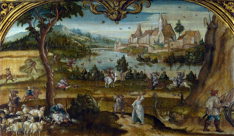Hans Wertinger - Summer. Part 3 National Gallery UK