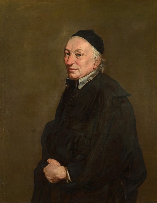 Giacomo Ceruti - Portrait of a Priest. Part 3 National Gallery UK