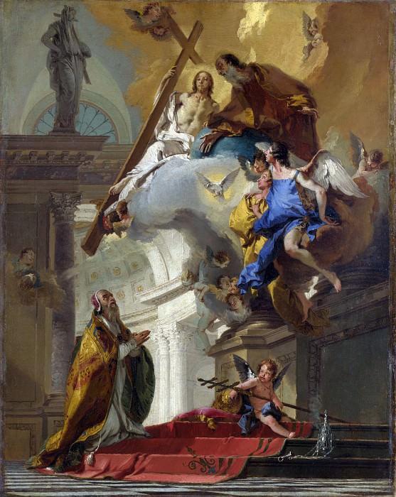 A Vision of the Trinity. Giovanni Battista Tiepolo
