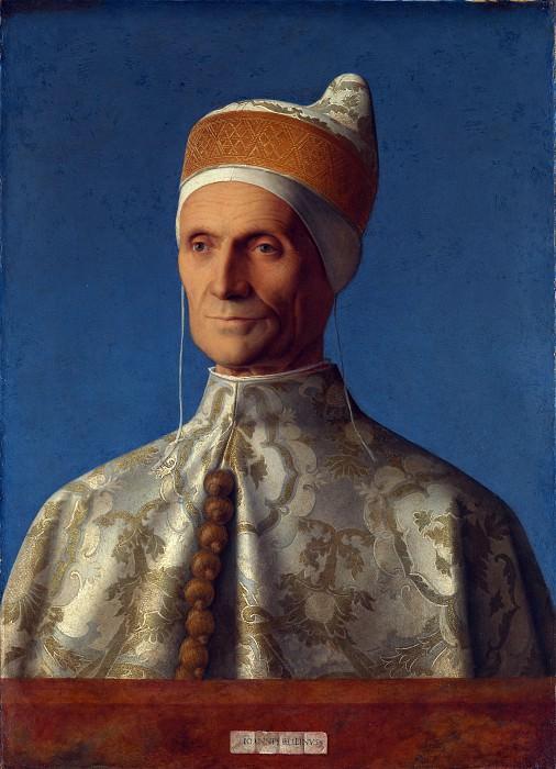 Giovanni Bellini - Doge Leonardo Loredan. Part 3 National Gallery UK