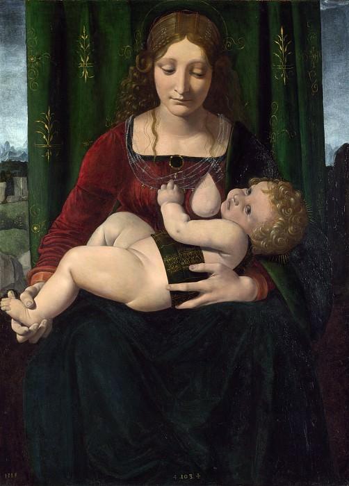 Джованни Антонио Больтраффио - Мадонна с Младенцем. Часть 3 Национальная галерея