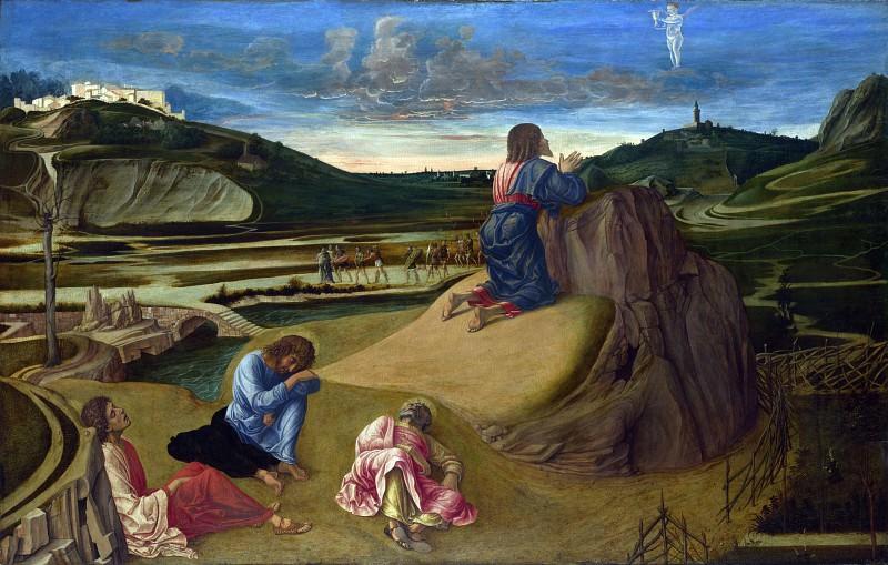 The Agony in the Garden. Giovanni Bellini