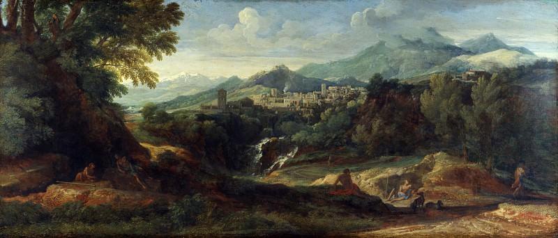Gaspard Dughet - Tivoli. Part 3 National Gallery UK