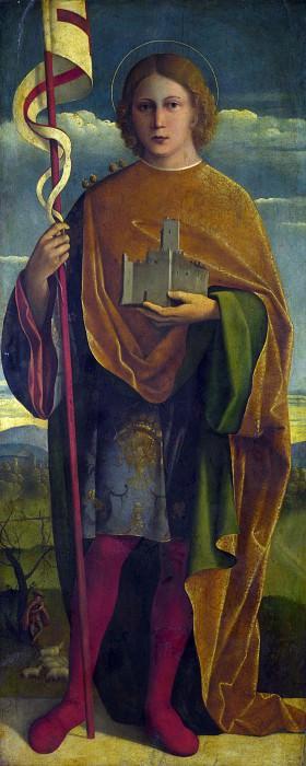 Джироламо да Сантакроче - Святой с крепостью и знаменем. Часть 3 Национальная галерея