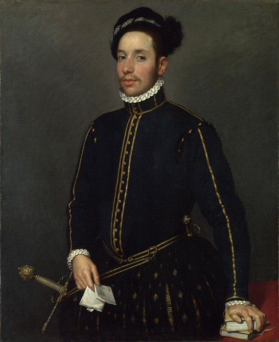 Giovanni Battista Moroni - Portrait of a Gentleman (Il Gentile Cavaliere). Part 3 National Gallery UK