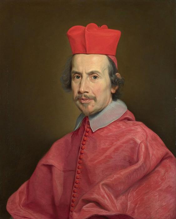 Giovanni Battista Gaulli (Baciccio) - Portrait of Cardinal Marco Gallo. Part 3 National Gallery UK