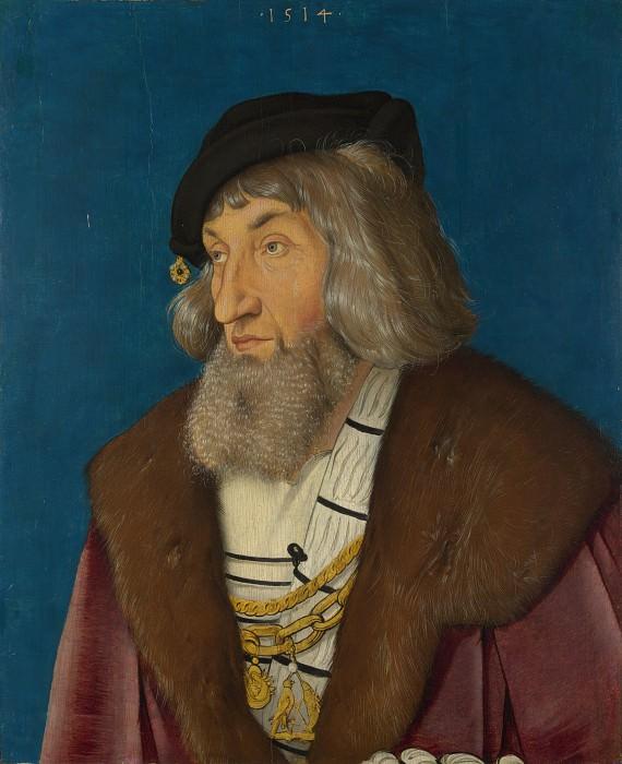 Hans Baldung Grien - Portrait of a Man. Part 3 National Gallery UK