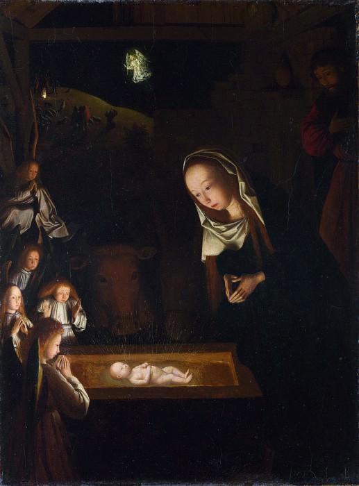 Geertgen tot Sint Jans - The Nativity at Night. Part 3 National Gallery UK