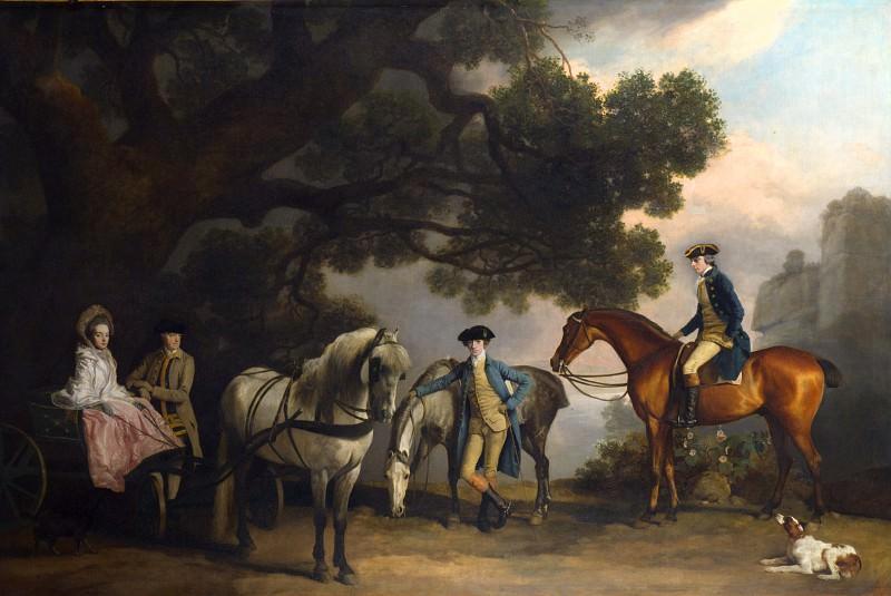 Джордж Стаббс - Семейства Милбанк и Мельбурн. Часть 3 Национальная галерея
