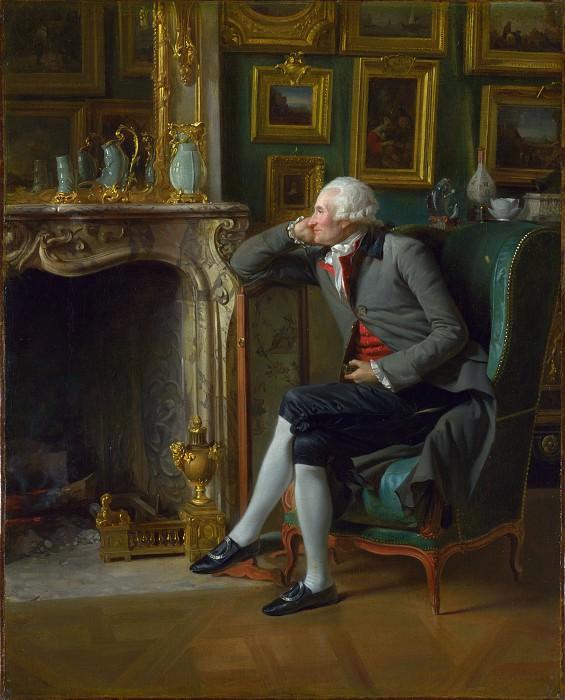 Henri-Pierre Danloux - The Baron de Besenval in his Salon de Compagnie. Part 3 National Gallery UK