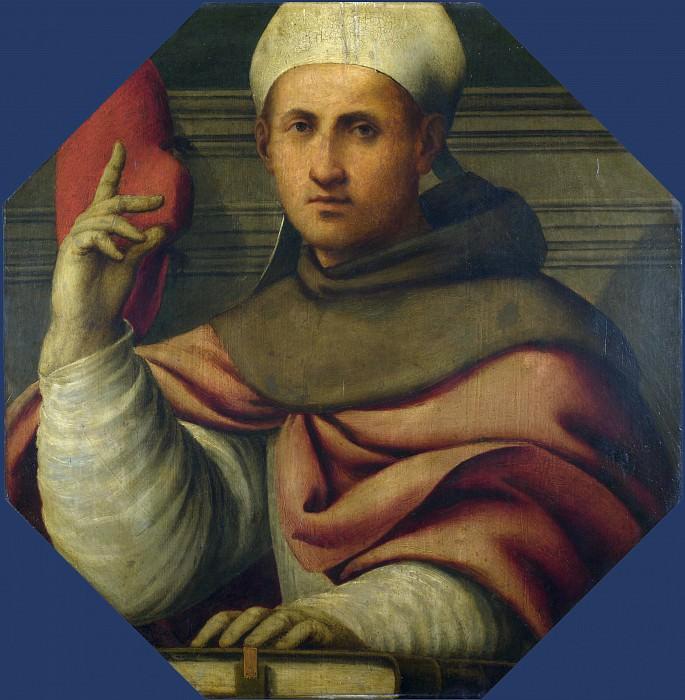 Giovanni Antonio Pordenone - Saint Bonaventure. Part 3 National Gallery UK
