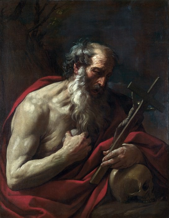 Saint Jerome. Guido Reni
