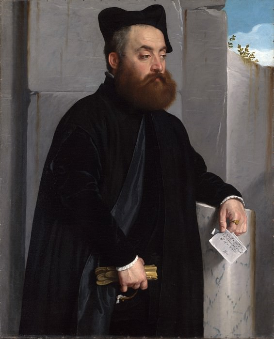 Джованни Баттиста Морони - Портрет каноника Лудовико ди Терци. Часть 3 Национальная галерея