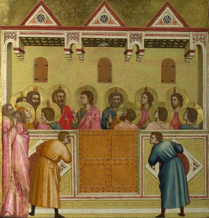 Pentecost. Giotto di Bondone