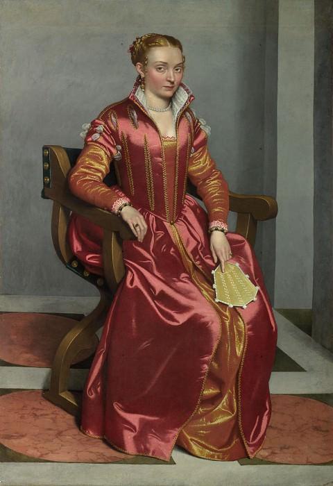 Джованни Баттиста Морони - Портрет дамы в красном. Часть 3 Национальная галерея