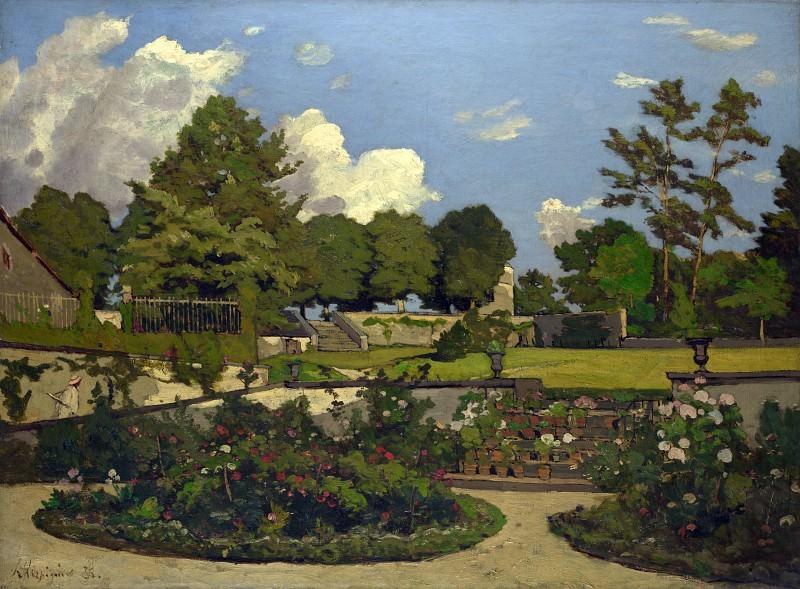 Henri-Joseph Harpignies - The Painters Garden at Saint-Prive. Part 3 National Gallery UK