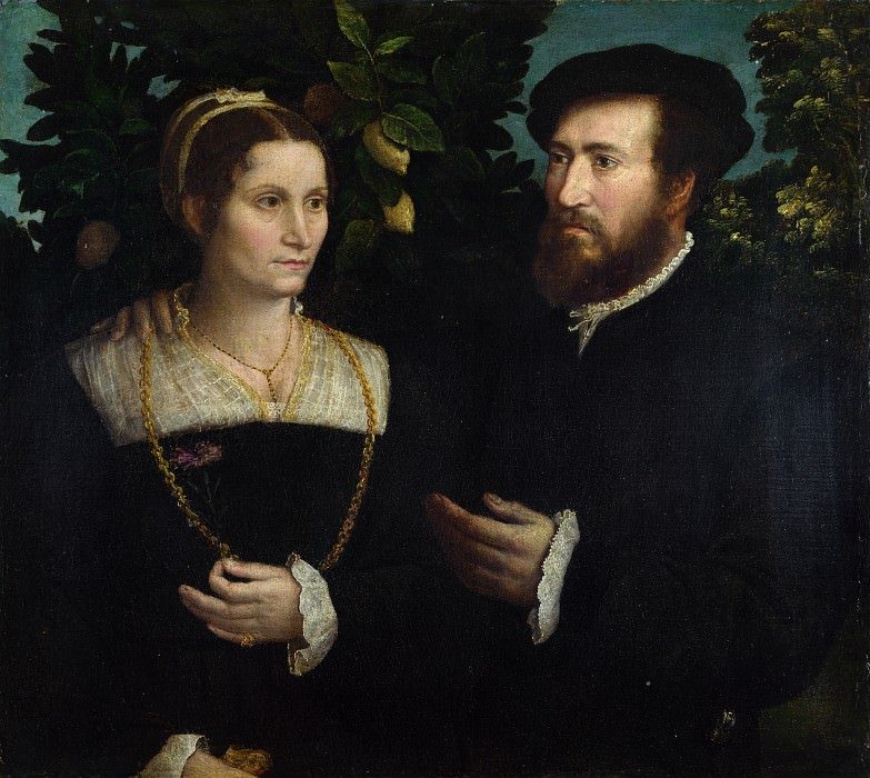 Italian - A Man and his Wife. Part 3 National Gallery UK