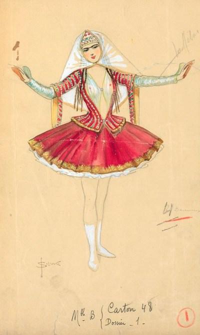 Costume Designs 1, ЧС. Sergey Sergeyevich Solomko