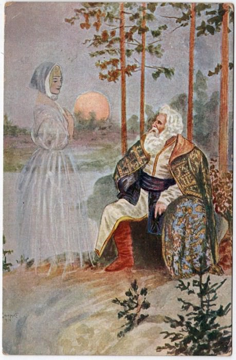 Reminiscence. 1910. Sergey Sergeyevich Solomko