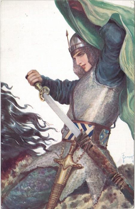 Nastasia Korolevichna. Sergey Sergeyevich Solomko