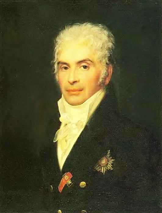 Портрет князя П. П. Щербатова. Ок. 1808. Х. , м. 68х52. ГРМ. Орест Адамович Кипренский