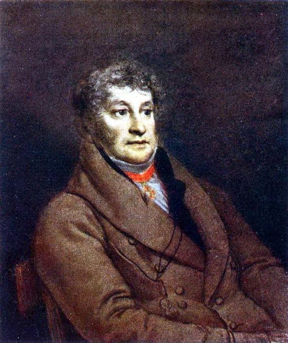Portrait of the unknown. 1811 RM. Orest Adamovich Kiprensky