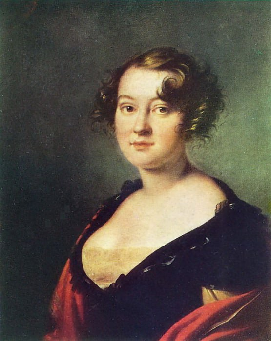 Portrait Golitsino. 1815. H., M. 67h55 Bishkek. Orest Adamovich Kiprensky