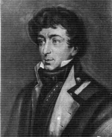 К. Н. Батюшков. Рис. 1815. Орест Адамович Кипренский