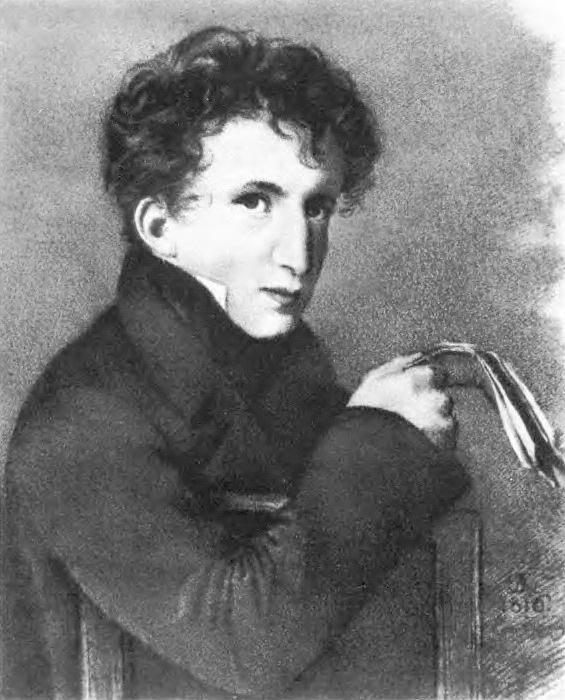 Portrait of Jean-Francois Duval. 1816. B., um. c. emergency, Geneva. Orest Adamovich Kiprensky