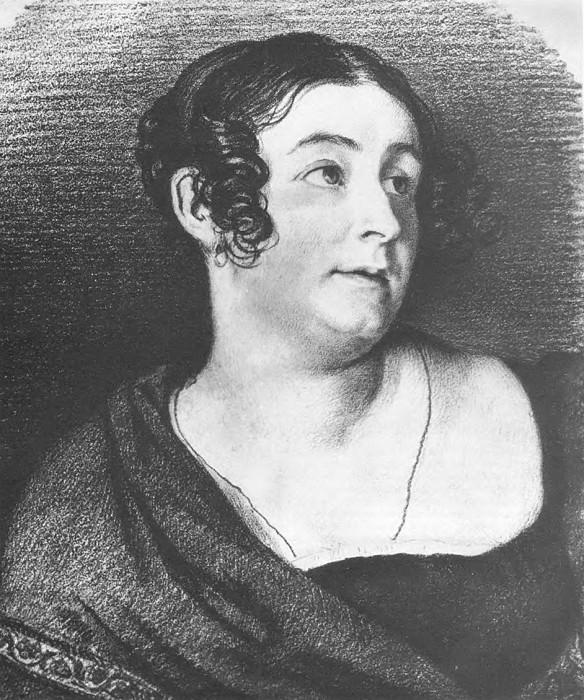 Portrait EM Khitrova. 1816-17 BA, um. c. 38h32. GMF, M. Orest Adamovich Kiprensky