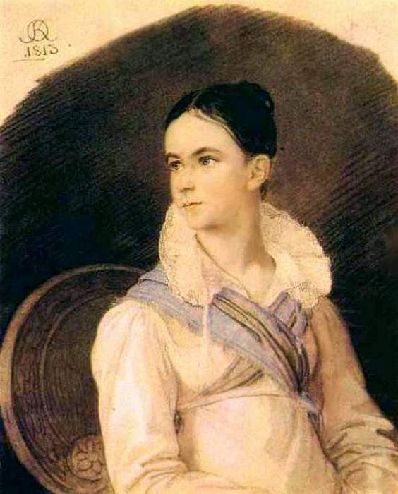 Portrait NV Kochubey. 1813 RM. Orest Adamovich Kiprensky