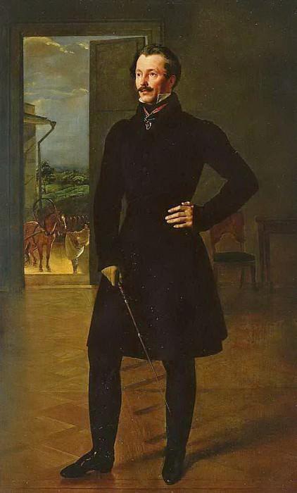 Портрет М. В. Шишмарева. 1827. Орест Адамович Кипренский