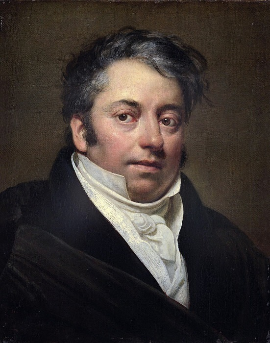 Portrait of Dr. H. Mazaroni 1829, 47h37 pm GTG. Orest Adamovich Kiprensky