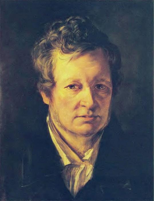 Portrait AR Tomilova. 1828. K., m. 44. 5h35. 2 RM. Orest Adamovich Kiprensky