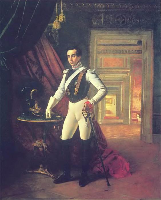 Портрет графа Д. Н. Шереметева. 1824 Х. , м. 252х204 ГИМ. Орест Адамович Кипренский