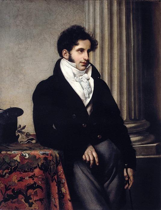 Portrait of Sergei Uvarov. Orest Adamovich Kiprensky