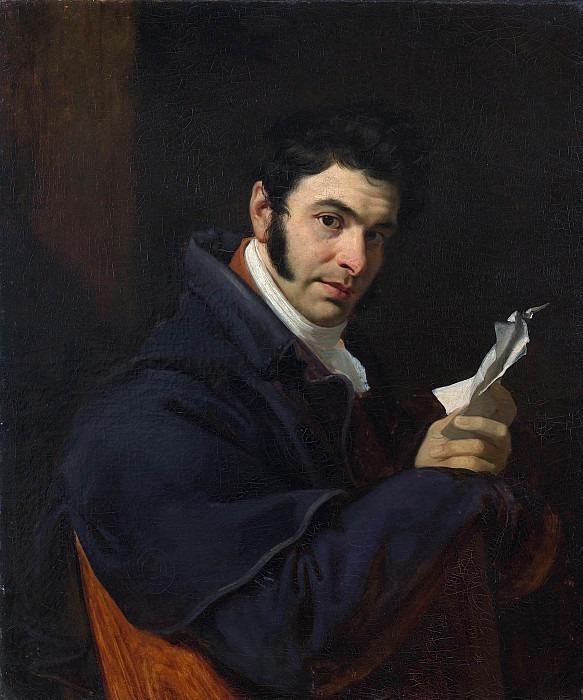 Портрет Николая Семеновича Мосолова. Орест Адамович Кипренский