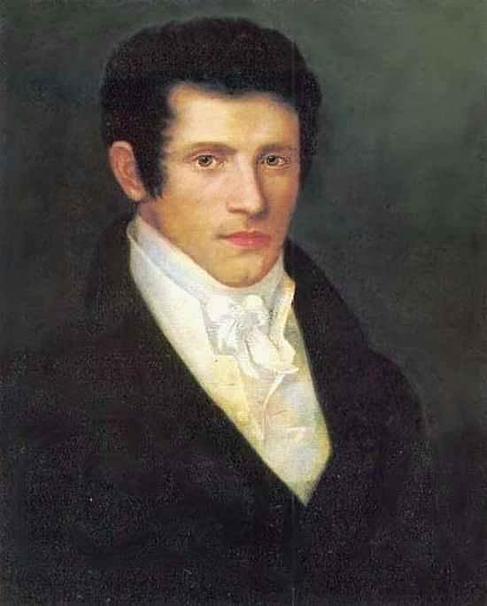 Portrait of a Man. H. 1826, 58h48 pm. 8 Taganrog. Orest Adamovich Kiprensky
